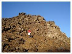 12 a descer a cratera