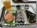 Sushi para jantar...