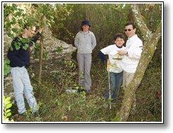 clcortez, Clara, Mantunes e o filho no 1º CITO em 2004